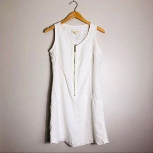 Michael Kors White Linen Dress